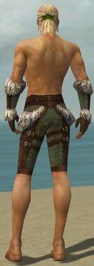 Ranger Elite Fur-Lined Armor M gray arms legs back