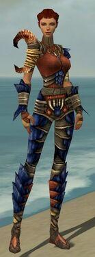 Ranger Elite Drakescale Armor F dyed front