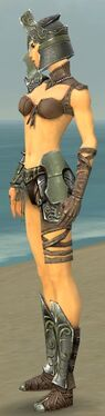 Warrior Elite Gladiator Armor F gray side