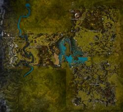 Charr Homelands map