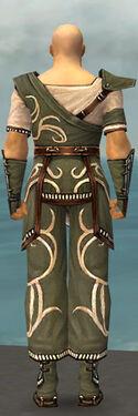Monk Shing Jea Armor M gray back