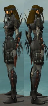 Assassin Ancient Armor F gray side