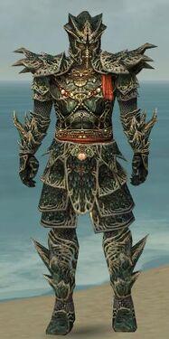 Warrior Elite Luxon Armor M gray front