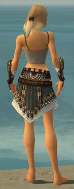 Warrior Vabbian Armor F gray arms legs back