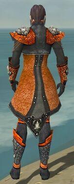 Elementalist Elite Stoneforged Armor M dyed back