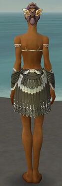 Paragon Elite Sunspear Armor F gray arms legs back