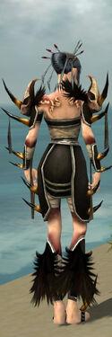Necromancer Ancient Armor F gray back