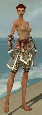 Ranger Elite Canthan Armor F gray arms legs front
