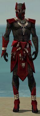 Ritualist Kurzick Armor M dyed front