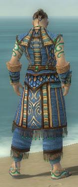 Monk Elite Luxon Armor M dyed back
