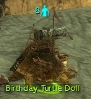 Birthday Turtle Doll