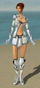 Elementalist Ascalon Armor F gray front