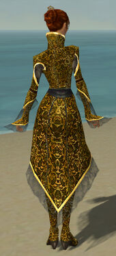 Elementalist Elite Canthan Armor F dyed back