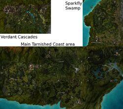 Tarnished Coast Map