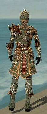 Ritualist Elite Imperial Armor M gray back