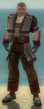 Monk Ancient Armor M gray front