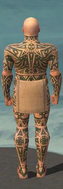 Monk Star Armor M gray back