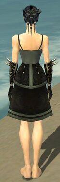 Necromancer Shing Jea Armor F gray arms legs back