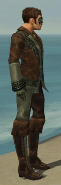 Mesmer Istani Armor M gray side
