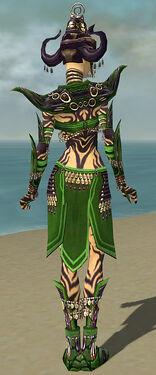 Ritualist Obsidian Armor F dyed back