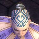 Monk Kurzick Armor M gray head front