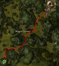 Archnis Hunt Location