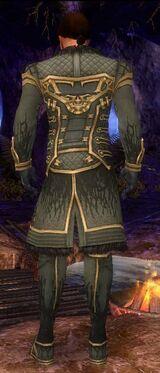 Mesmer Primeval Armor M gray back