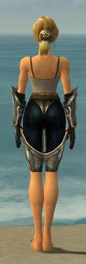 Warrior Sunspear Armor F gray arms legs back