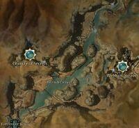 Yatendi Canyons map
