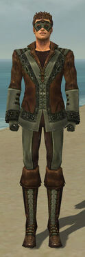 Mesmer Istani Armor M gray front