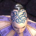 Monk Elite Canthan Armor M gray head front