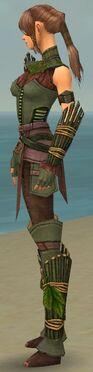 Ranger Druid Armor F gray side