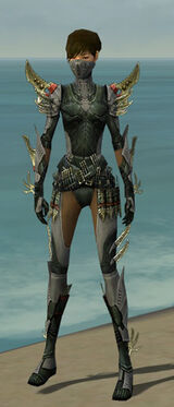 Assassin Elite Imperial Armor F gray front