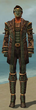 Mesmer Ancient Armor M gray front