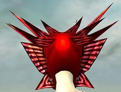 Sinister Dragon Mask dyed back
