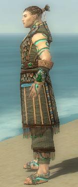 Monk Elite Luxon Armor M gray side