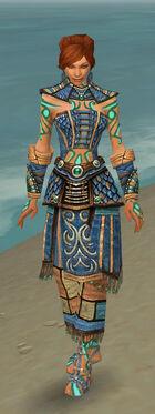 Monk Elite Luxon Armor F dyed front