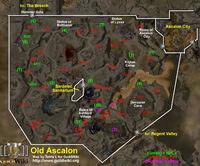 Old Ascalon Map