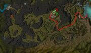 Riverside Assassination map