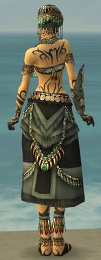 Ritualist Elite Luxon Armor F gray back