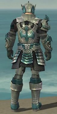Warrior Elite Templar Armor M dyed back