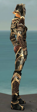 Warrior Elite Kurzick Armor F dyed side