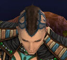 Monk Elite Luxon Armor M gray head front