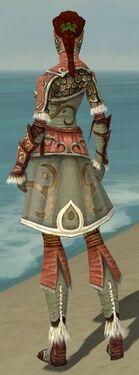 Ranger Elite Canthan Armor F gray back