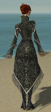 Elementalist Elite Canthan Armor F gray back