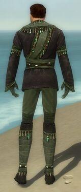 Mesmer Elite Luxon Armor M gray back