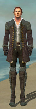 Mesmer Tyrian Armor M gray front