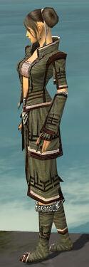 Monk Kurzick Armor F gray side