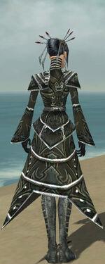 Necromancer Fanatic Armor F gray back