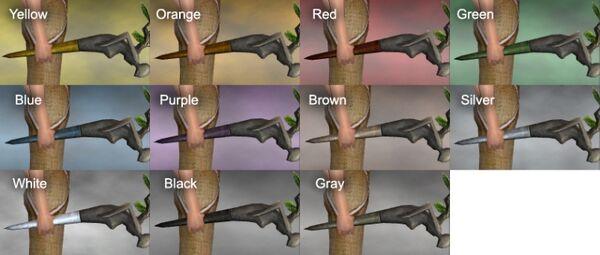 Guardian Branch Dye Chart